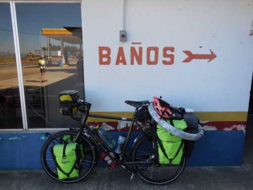 Nancy and the Bano sign