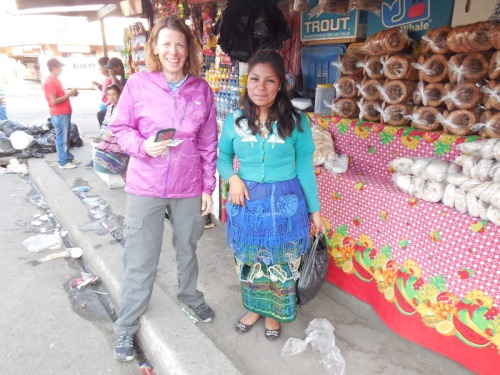 Nancy and the bread seller
