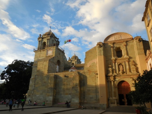 Oaxaca church 1