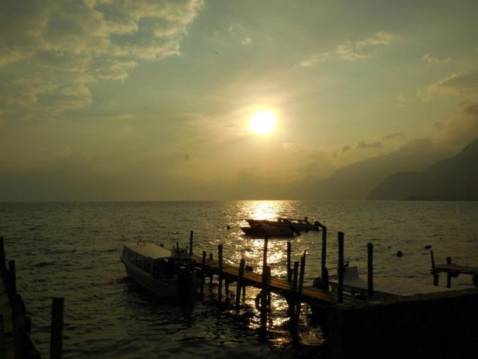 Sunsest on lake 1
