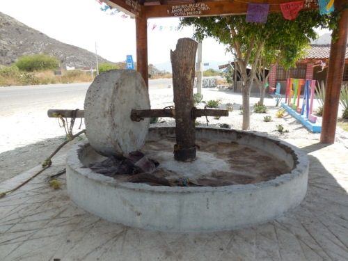 The traditional way to make mezcal