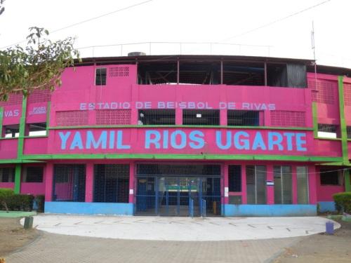Beisbol stadium in RIvas
