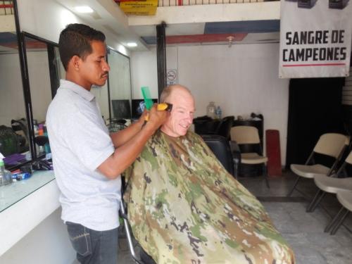 Dave's $1.60 USD haircut