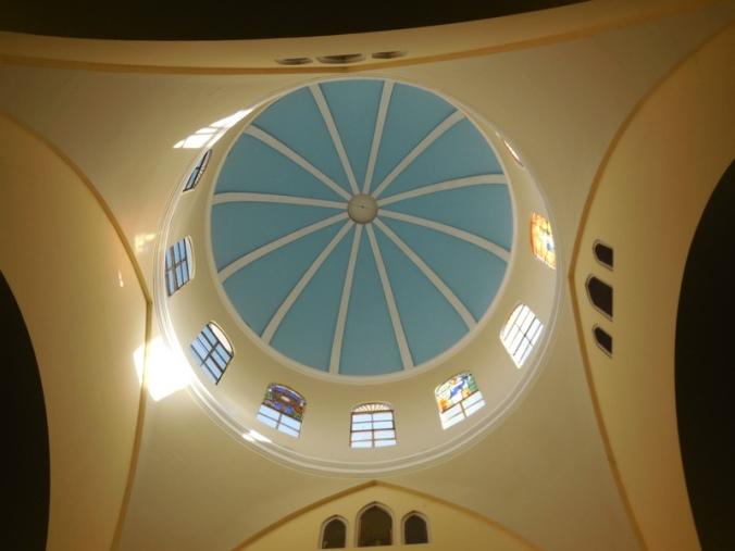 Granada church ceiling 2