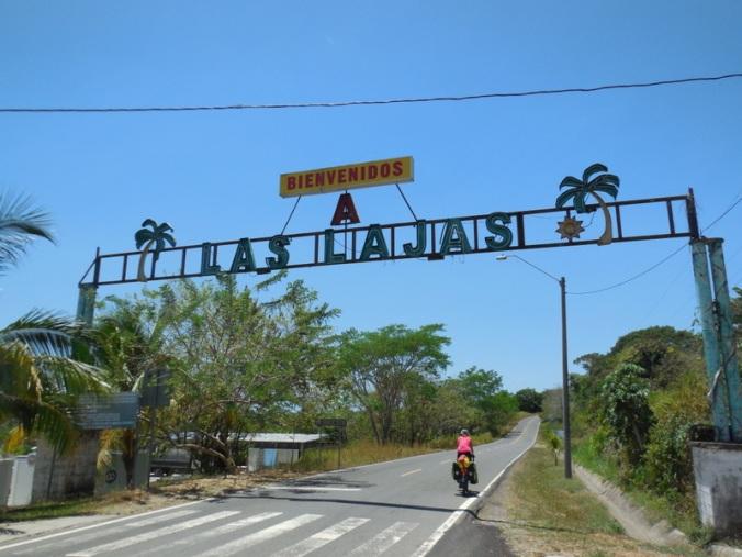 Las Lajas ahead