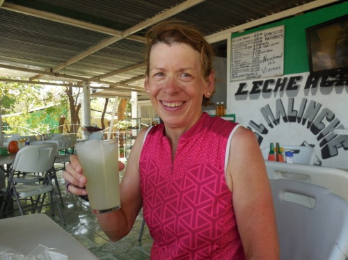 Nancy and lime drink break
