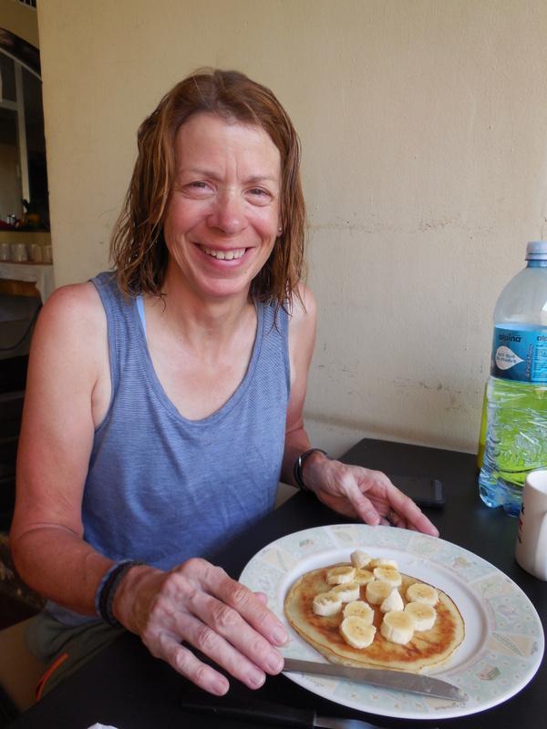 Nancy gets her pancakes