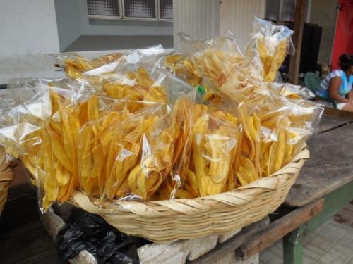 Plantain chips - yum