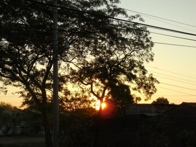 Santa Rosa sunrise