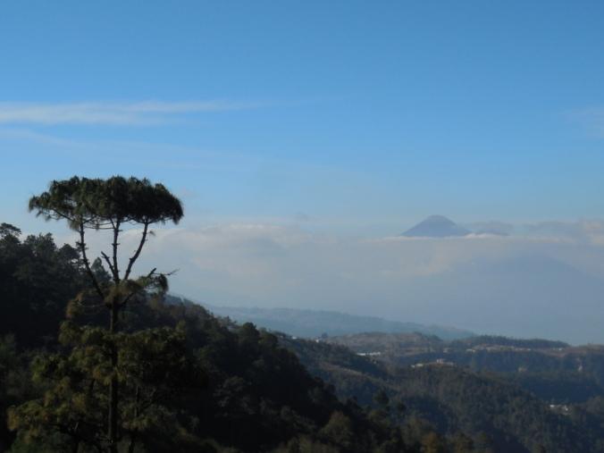 Volcano scene 2