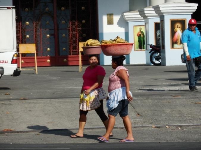 Zacatecolua banana sellers