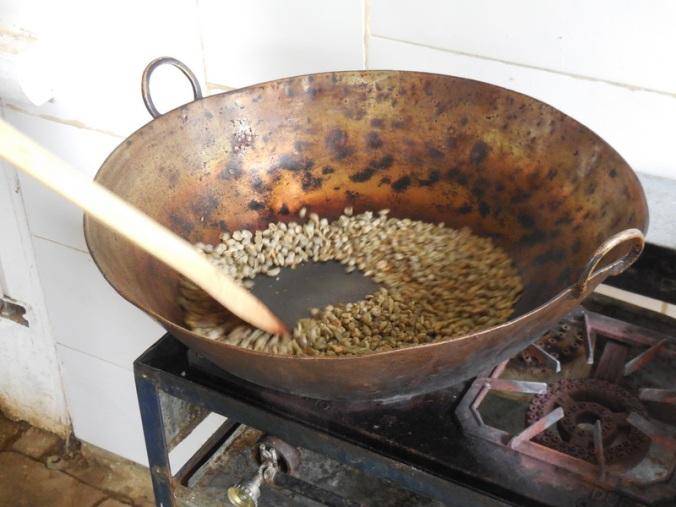 9 oasting green beans