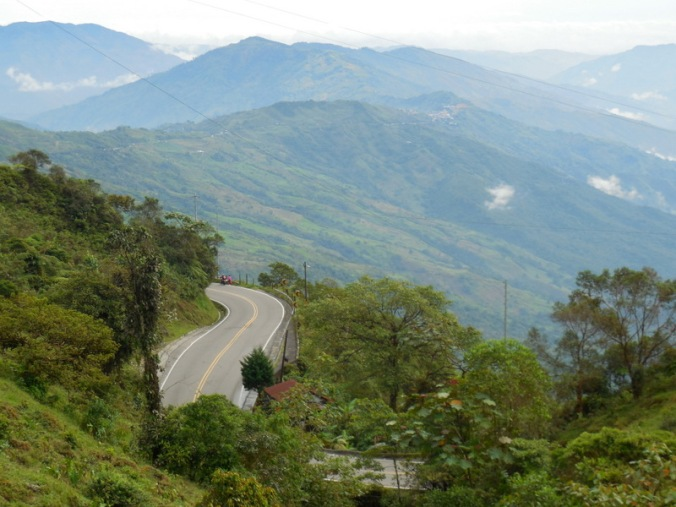 Andes road 1