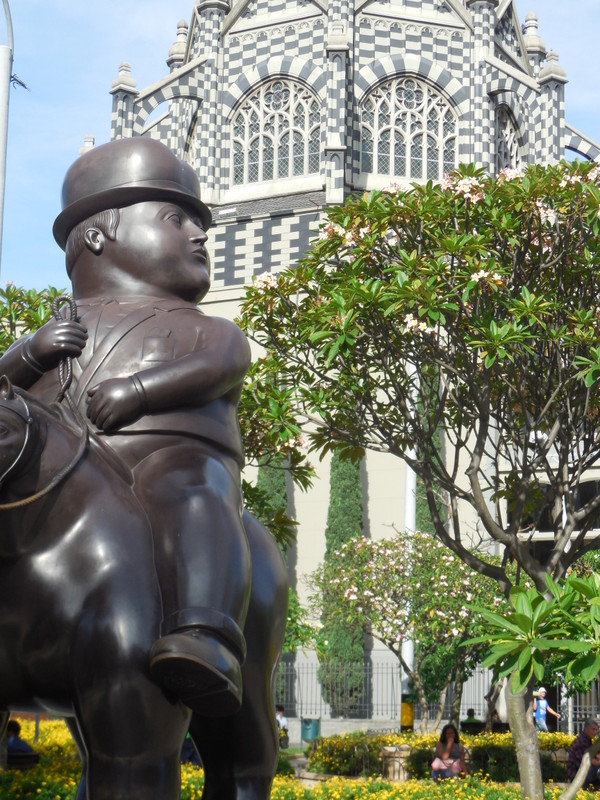 Botero - Man on horseback 2