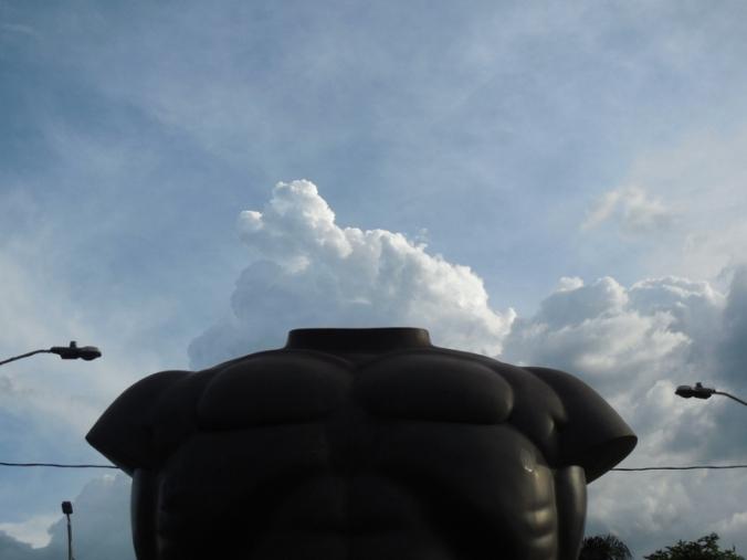 Botero torso - thunderhead 1