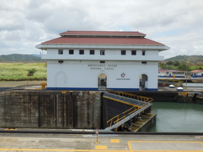 Canal lock building 2