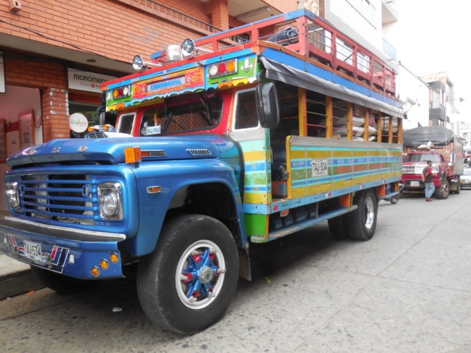 Colombia buses 3