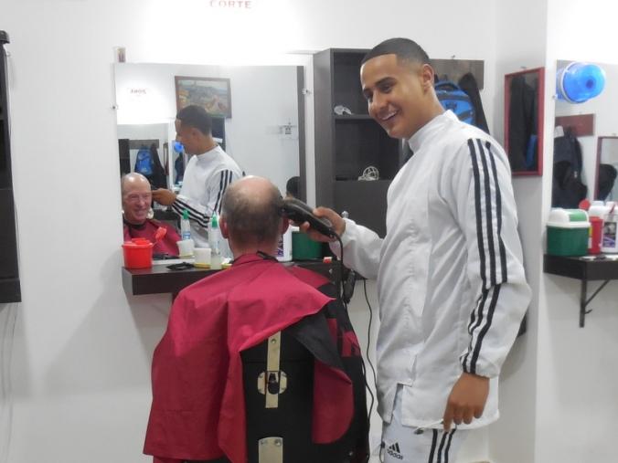 Dave's haircut 1