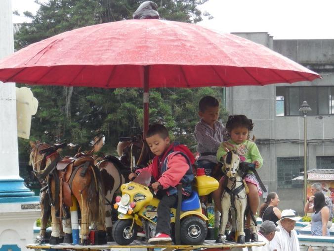 Kids in park - Santa Rosa de Cabal