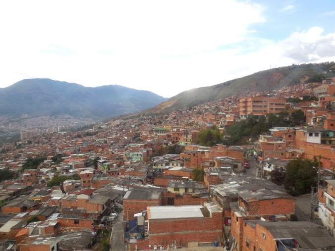 Medellin view from tram