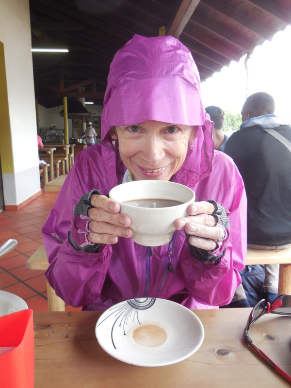 Morning tea - warming