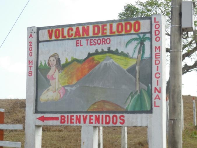 Mud volcano - we didn't go