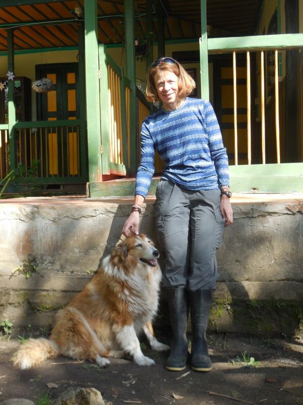 Nancy and hostal dog