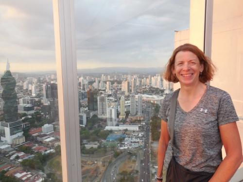 Panama City view and Nancy