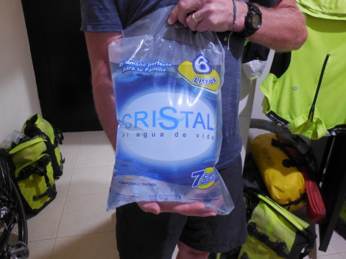 Six liters of water in Colombia 1