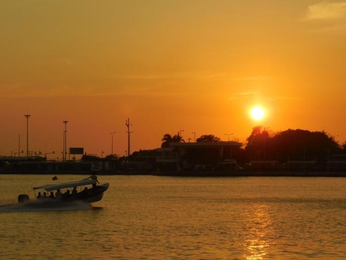 Sunset in Cartagena 1