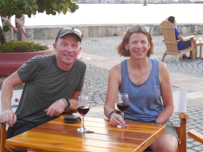 Us in Cartagena