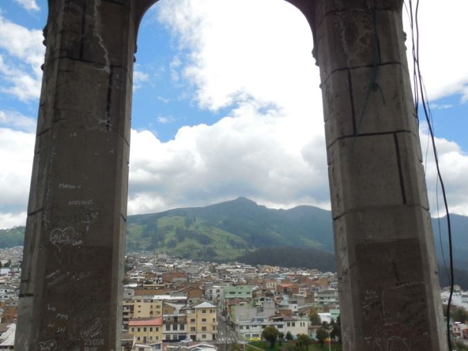 Basilica of the National mountain view