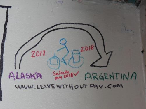 Brunch wall - our art