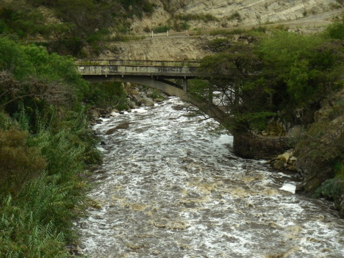 Guayllabamba river 1