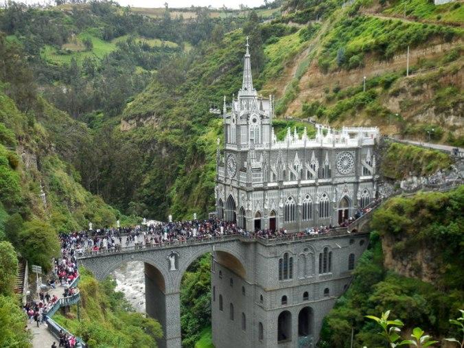 Las Lajas church 12
