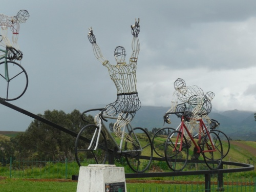 Monument to racing cyclists 3