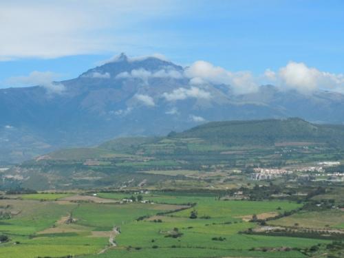 Volcano in morning 2