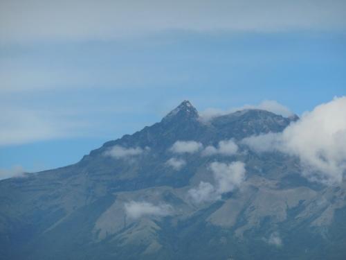 Volcano in morning 3