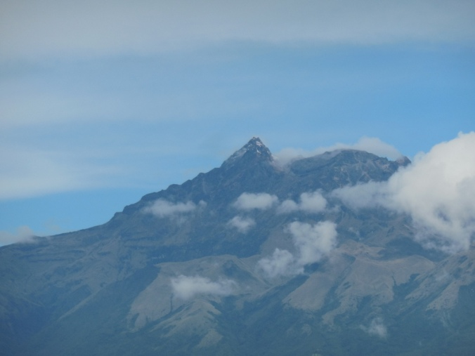 Volcano in morning 3