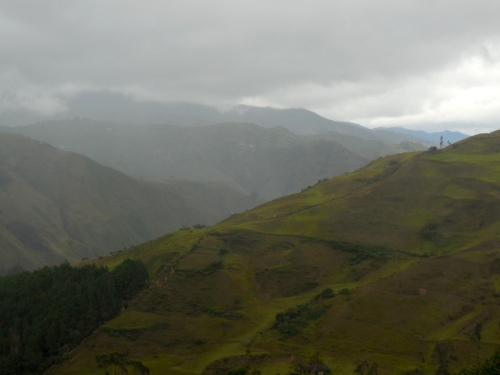 Andes in the rain 6