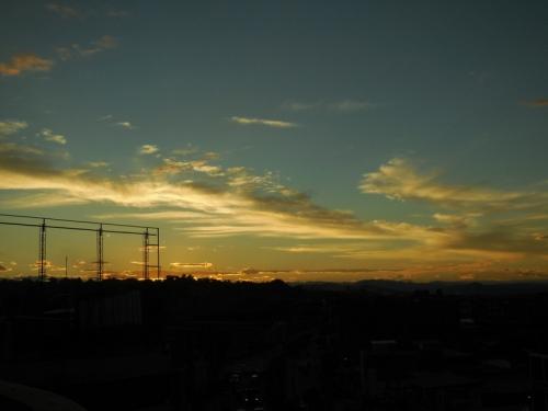 Bagua Grande sunset