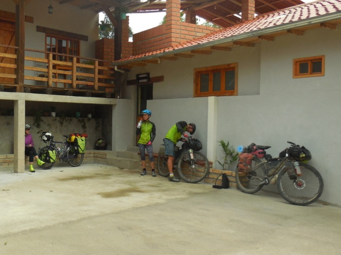 Bikes getting ready