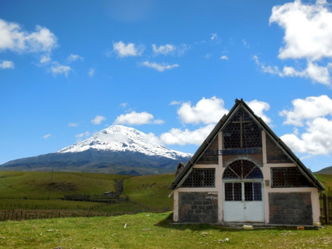 Chimborazo and summit church 1