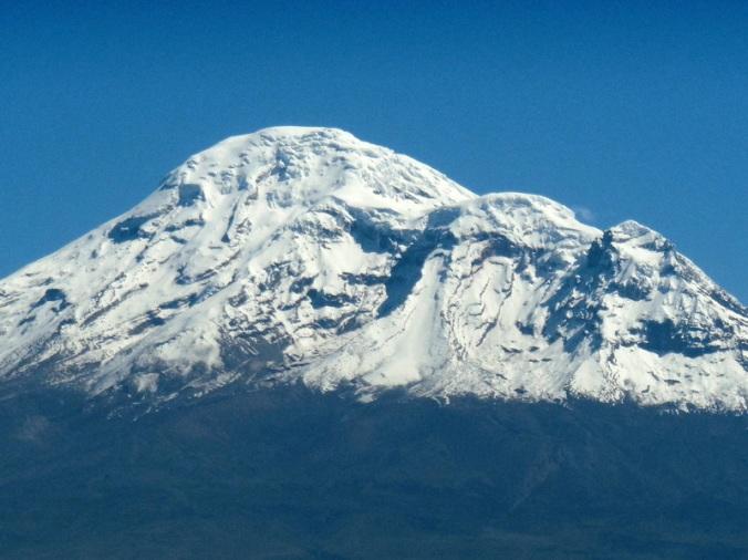Chimborazo close up