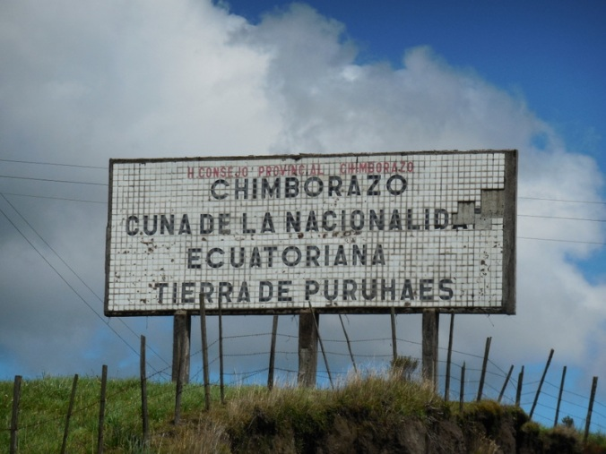 Chimborazo - craddle of Ecuador - land of the Puruha