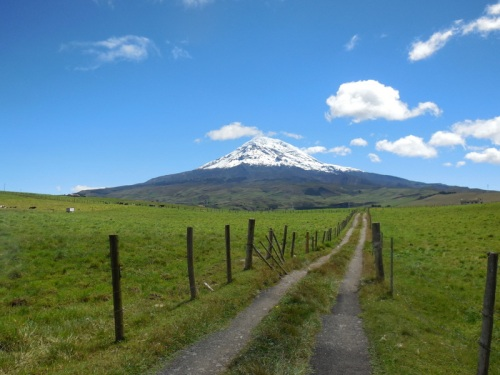 Chimborazo with road 4