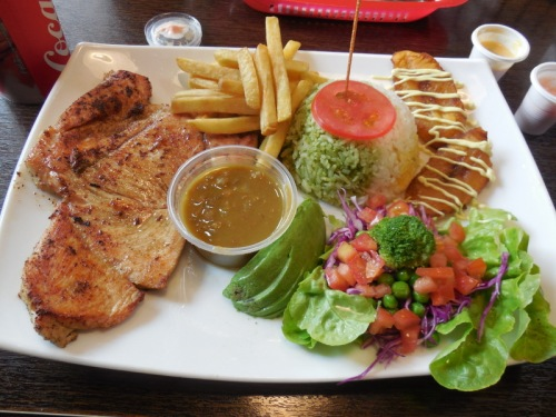 Comida Rapid - fast food in Ecuador