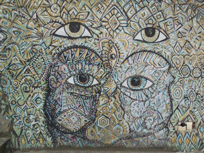 Eyes wide shut - Vilcabamba art