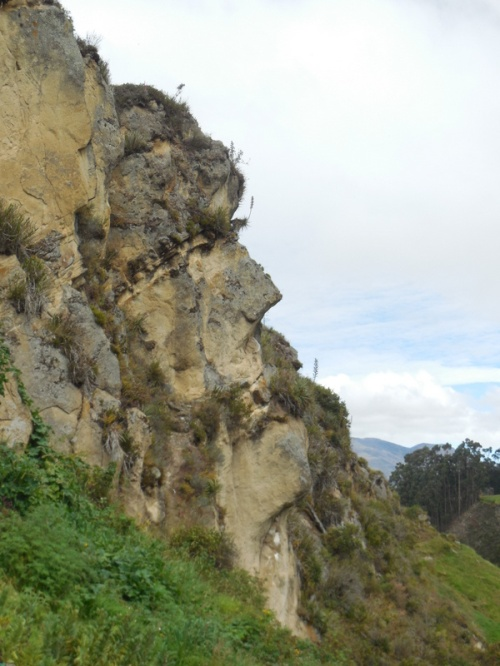 Inca face - rock