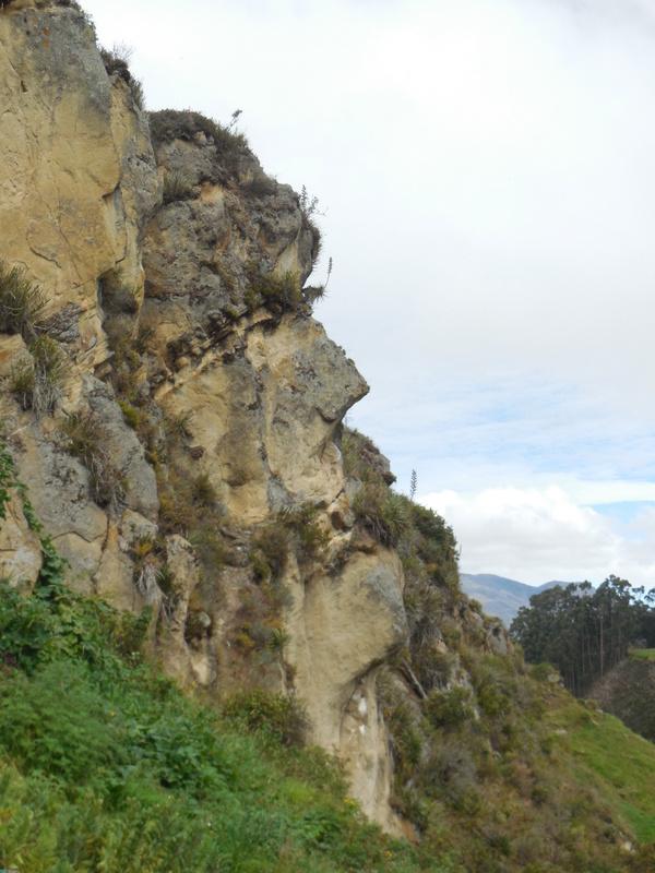Inca face - rock